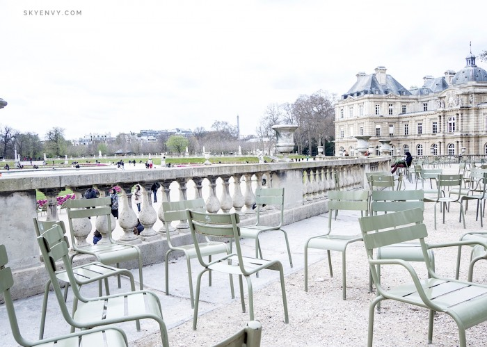 Luxembourg Garden Chairs