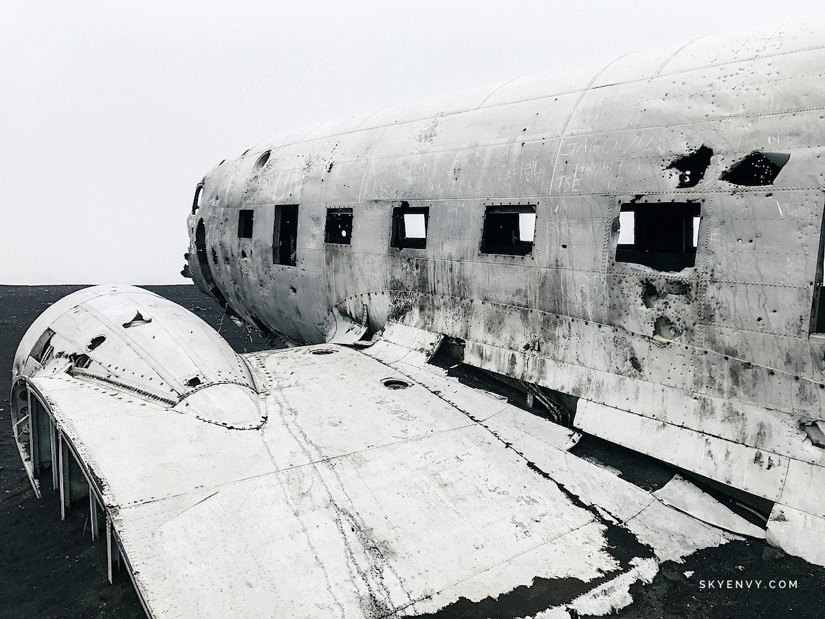 Vik Plane Iceland