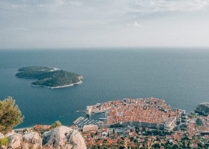 Dubrovnik; Croatia; King's Landing; Mount Srd; Game of Thrones; Cable Car; GOT; Orange rooftops; Terracotta Roofs; Adriatic Coast; Balkans; Lokrum Island