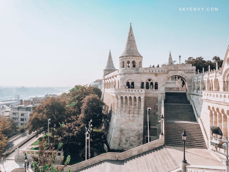 Fisherman's Bastion; Budapest; Hungary; Central Europe; Fairytale; Castle; Sky Envy; Blue Sky; Early Morning